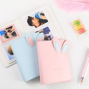 64 Pockets 3 Inch Photo Album Book For Fujifilm Instax Mini 11 9 8 7s 70 25 90 LiPlay LINK SP-1 SP-2 Instant Camera Card Holder