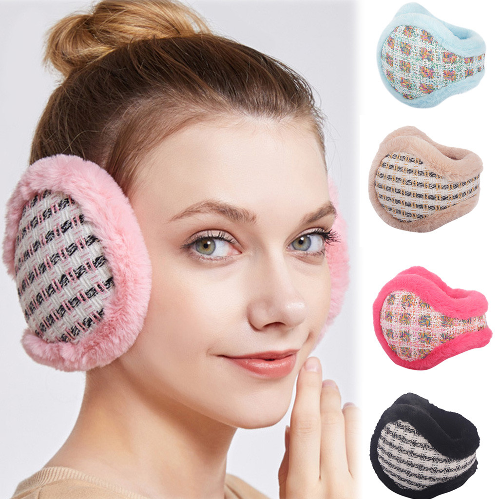Unisex Foldable Winter Earmuffs Winter Windproof Comfortable Simple Ear Warmer Thicken Earmufuffs 2019 New Arrival Wholesale #P