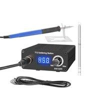 T12 reparação do telefone móvel estação de solda especial controle temperatura programável sono standby ferro de solda statio