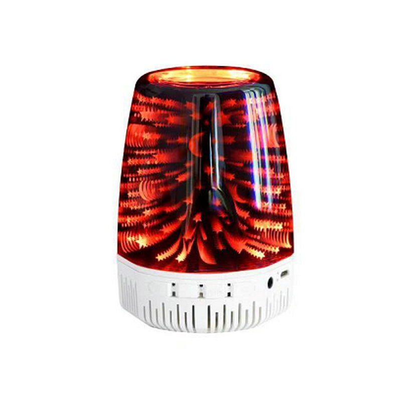 Fashion 3D Stereo Starlight Wireless Bluetooth Speaker A5 TWS Mini BT Handsfree Lighted Sound Loudspeaker for Christmas Gifts
