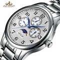 Мужские модные часы AESOP, Роскошные наручные часы с сапфировым кристаллом, Мужские кварцевые наручные часы, мужские часы, Relogio Masculino