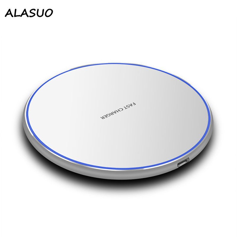 10W Qi Wireless Phone Charger For iPhone XS MAX XR X 8 Plus Micro Usb High Quality Fast Charger Station For Samsung S10 S9 S8
