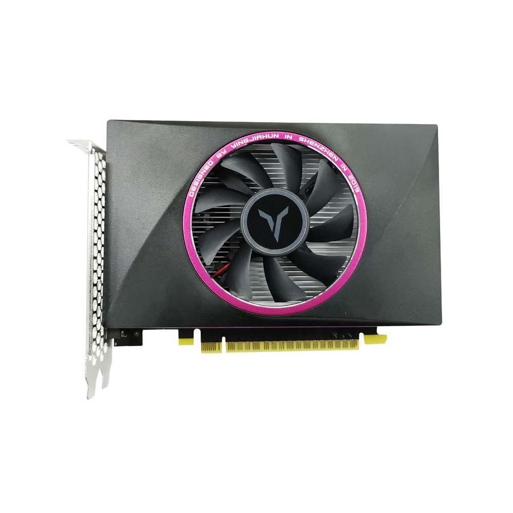 Yeston <font><b>GTX</b></font> <font><b>1050Ti</b></font>-4G D5 TC NVIDIA Pascal <font><b>4GB</b></font> Memory Enhanced Cooling Computer Game Graphics Card for PC image