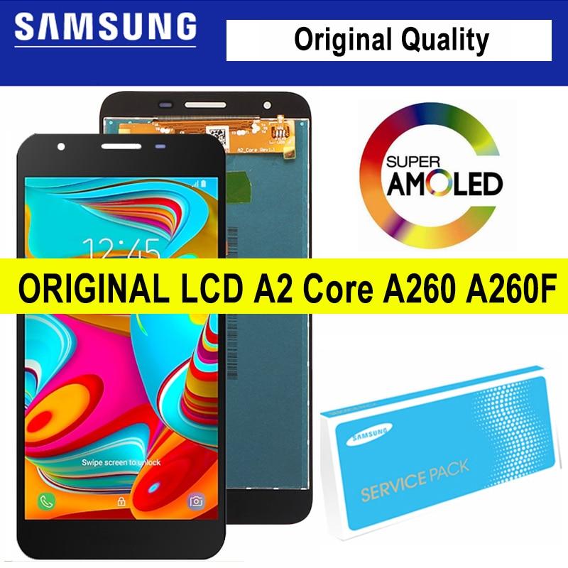 100% Оригинальный Для Samsung Galaxy A2 Core для Samsung A260 LCD SM-A260F/DS A260F A260G дисплей сенсорный экран дигитайзер в сборе