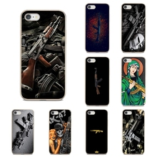 Army Sniper Rifle Gun Weapons Transparent TPU Case For Nokia 7 Plus 2 3 5 8 9 2.1 3.1 5.1 6 2017 2018 230 3310 For Oneplus 3T 5T