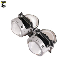 Sanvi 2Pcs 3.0 inches Car Bi LED Projector Lens Headlight 40W 5500K Motorcycle Projectpr Light Accessorie