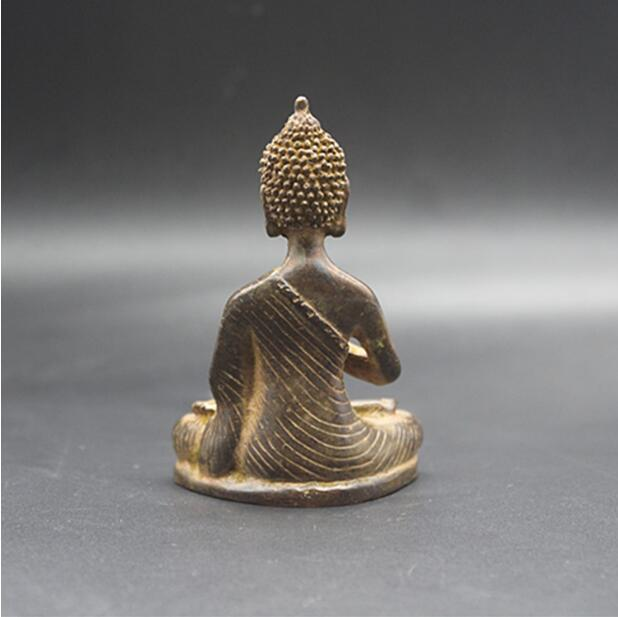 Chinese Tibet Buddha Bronze statue Buddha of Nepal old copper statue