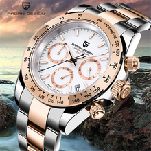 PAGANI DESIGN new luxury brand men watches Quartz waterproof watch men automatic wristwatch full steel clock relogio masculino pagani design luxury brand watches men waterproof silicone strap fashion quartz simple watch chinese dragon calendar relogio new