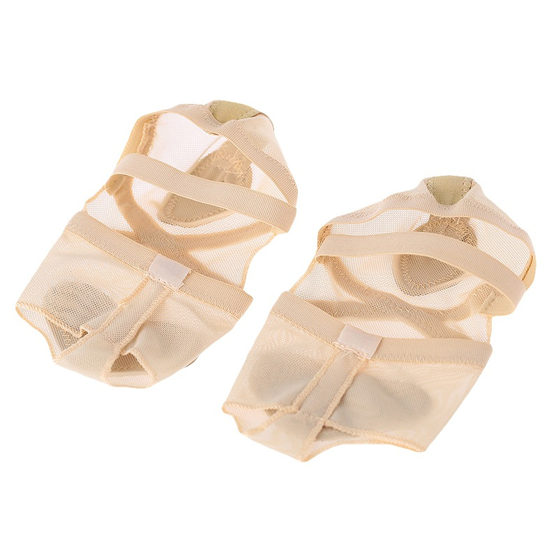 Dkhsy Women Ballet Dance Socks Heel Protector Breathable Foot Thong Toe Pad Dance Shoes Accessories