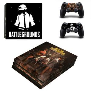 Image 2 - Game PUBG PS4 Pro Sticker Play station 4 Skin Sticker Decals For PlayStation 4 PS4 Pro Console & Controller Skins Vinyl