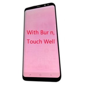 Image 4 - Replacement With Frame For Samsung S9 plus G965 965F s9 g960 g960f burn in shadow LCD Display Digitizer Touch Screen
