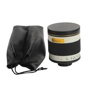 Image 5 - 500mm F/6.3 appareil photo téléobjectif manuel lentille miroir + 2X objectif téléconvertisseur pour Canon Nikon Pentax Olympus Sony A6300 A7RII GH5 DSLR