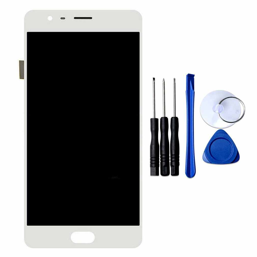 For Oneplus 3/3T A3000 A3003/5 A5000/One A0001 LCD Display Touch Screen Digitizer Assembly + Frame Replacement Screen Parts