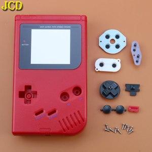 Image 2 - JCD 1 adet 15 renk GameBoy Classic oyun yedek plastik kabuk kapak nintendo GB konsol DIY tam konut GB durumda