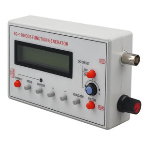 FG-100 DDS Function Signal Generator Frequency Counter 1Hz - 500KHz Promotion