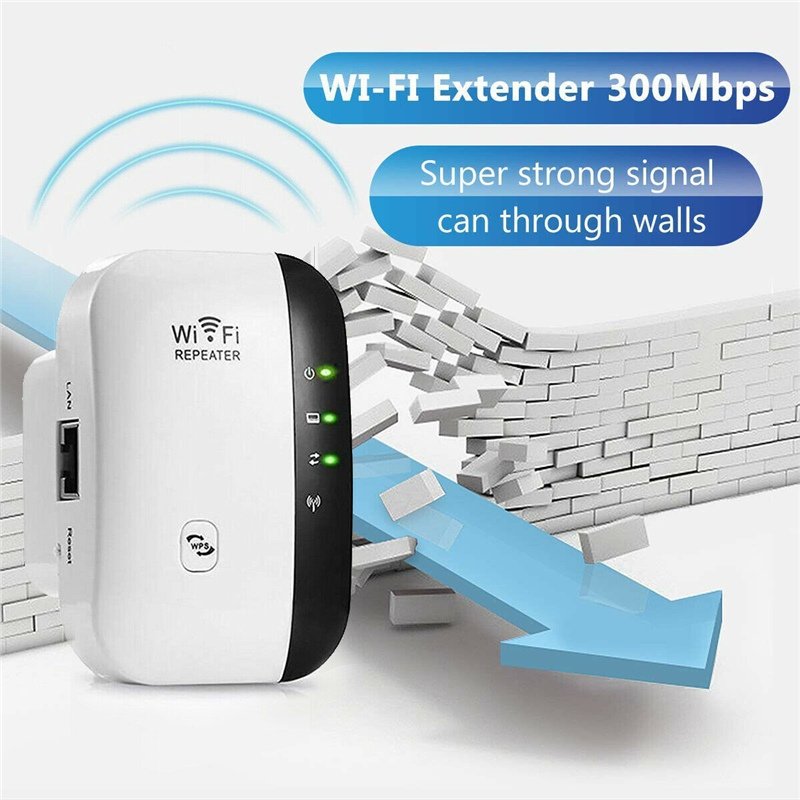 Hot Wifi Repeater Signal Amplification Repeater Wireless Router Range Extender 300Mbps Amplifier WiFi Boosters EU US UK