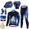 VEOBIKE 2020 горячая Распродажа длинные велосипедные комплекты зимняя термальная флисовая одежда Mtb Одежда для велосипеда профессиональная ком...