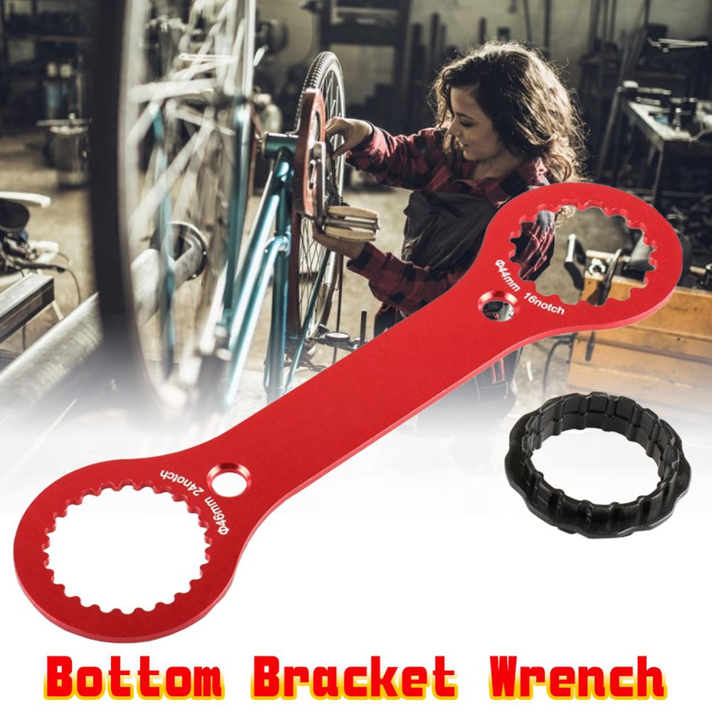 Bicycle DUB BB Bottom Brackets Wrench 44mm 46mm 16 24 Notch Install Repair For BB51 BB52 Bike Tool Spanner 1PC