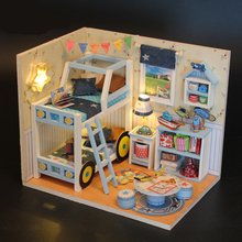 DIY LOL surprise dolls with bed Furniture Desk lamp Chair Bed window table house toys Original LOL dolls accessories for Kids