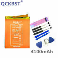Batería de alta capacidad QCKBST HB366481ECW 4100mAh para Huawei P9 G9 G9 Lite Honor 8 9 Lite 5C reemplazo Original baterías de Li-ion
