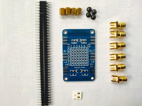 NanoVNA Testboard Kit Vector Network Analysis Test Board Demo Board