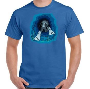 Camiseta De Buceo en 3D para verano Buzo, Equipo De Equipo para...