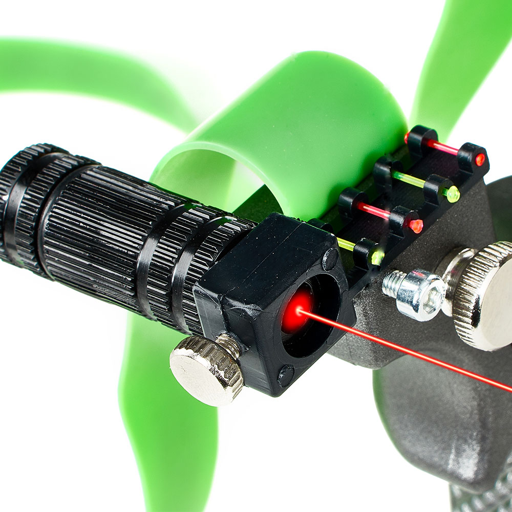 Ultimate SaleSlingshot Laser Hunting-Powerful Sport-Shooting Outdoor with Rubber-Band High-Precision