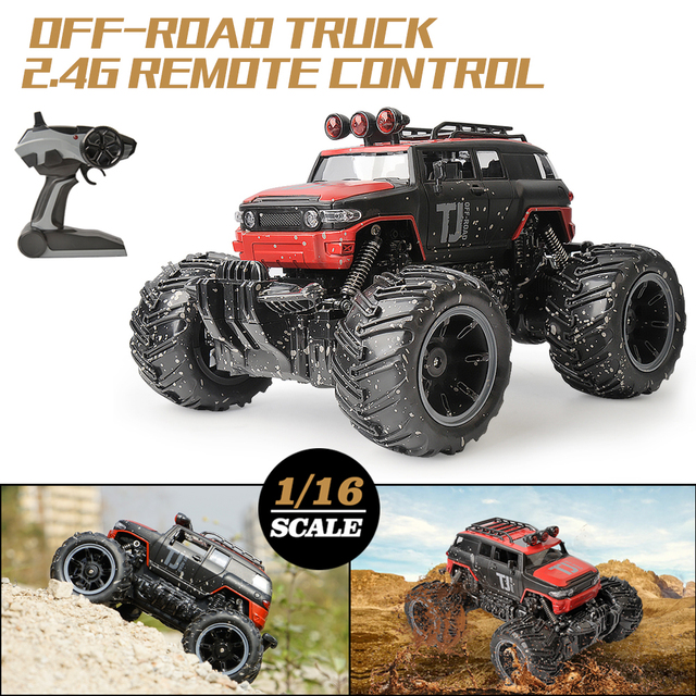 RC Car 2.4G Scale Rock Crawler Remote Control Car Supersonic Monster Truck Off Road Vehicle Buggy xmas gifts for kids