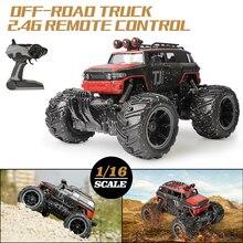 RC coche 2,4G escala Rock Crawler Control remoto coche supersónico monstruo camión todoterreno Buggy regalos de Navidad para niños