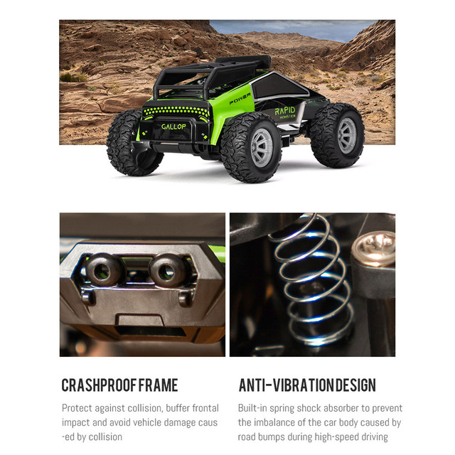 1:32 4CH 2WD 2.4GHz Mini High Speed Remote Control Car Off-Road Vehicle Toys Gif Buggy Car Kids Robot RC Car Toys#G30 5