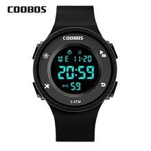New Electronic Mens Watch Luxury Brand Sports LED Digital For Male High Quality 5 Bar Waterproof Calendar Wristwatch 2019