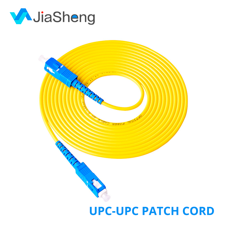 10Pcs/Lot 1M 2M 3M 5M SC/UPC-SC/UPC Simplex 9/125 Single Mode SM Fiber Optic Cable Patch Cord Fiber Jumper