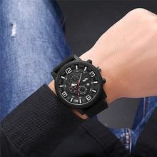 Men Sport Watch Small Dial Decoration Watch Men Waterproof Date Display Large Digital Scale Men Quartz Wristwatch Reloj Hombre цены онлайн
