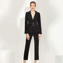 Women Pants Suits Set For Work OL Ladies Office Work Blazer