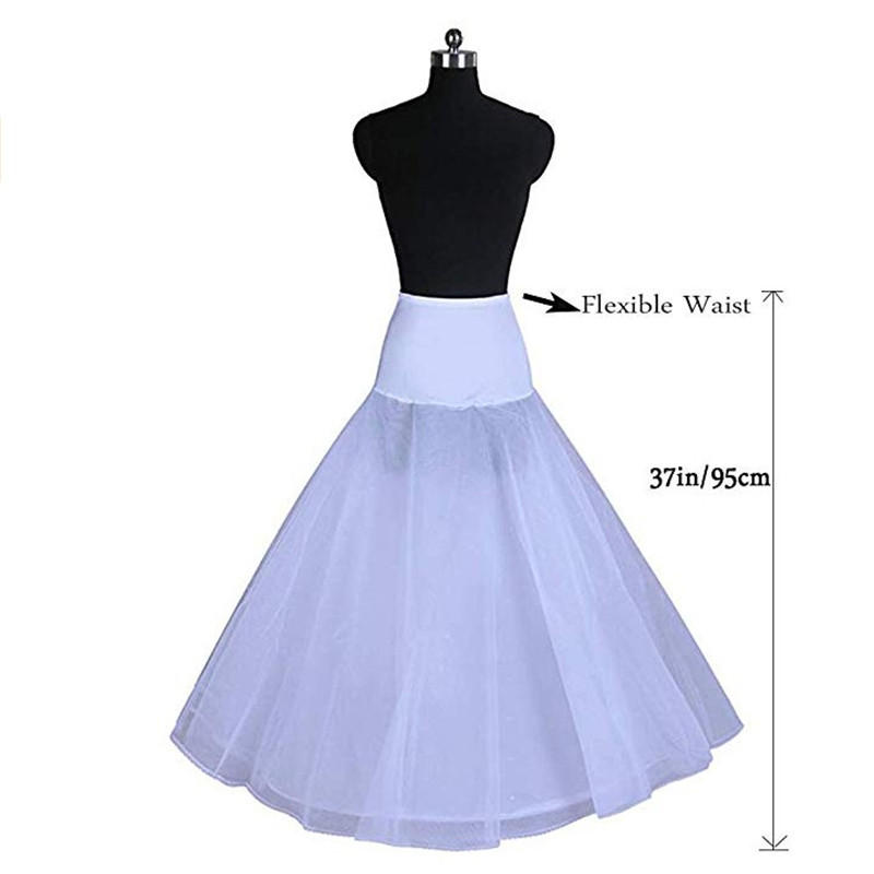 New Arrives 100% High Quality A Line Tulle Wedding Bridal Petticoat Underskirt Crinolines For Wedding Dress Can Be Wholesale