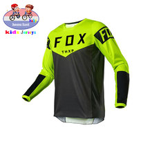 2021 children's cycling jersey, cross-country motorcycle jersey DH MX, FOX