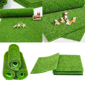 Image 1 - Artificial Moss Turf Lawns Green Plants DIY Micro Landscape Decoration Fake Grass Lawn for Home Mini Garden Floor Accessories