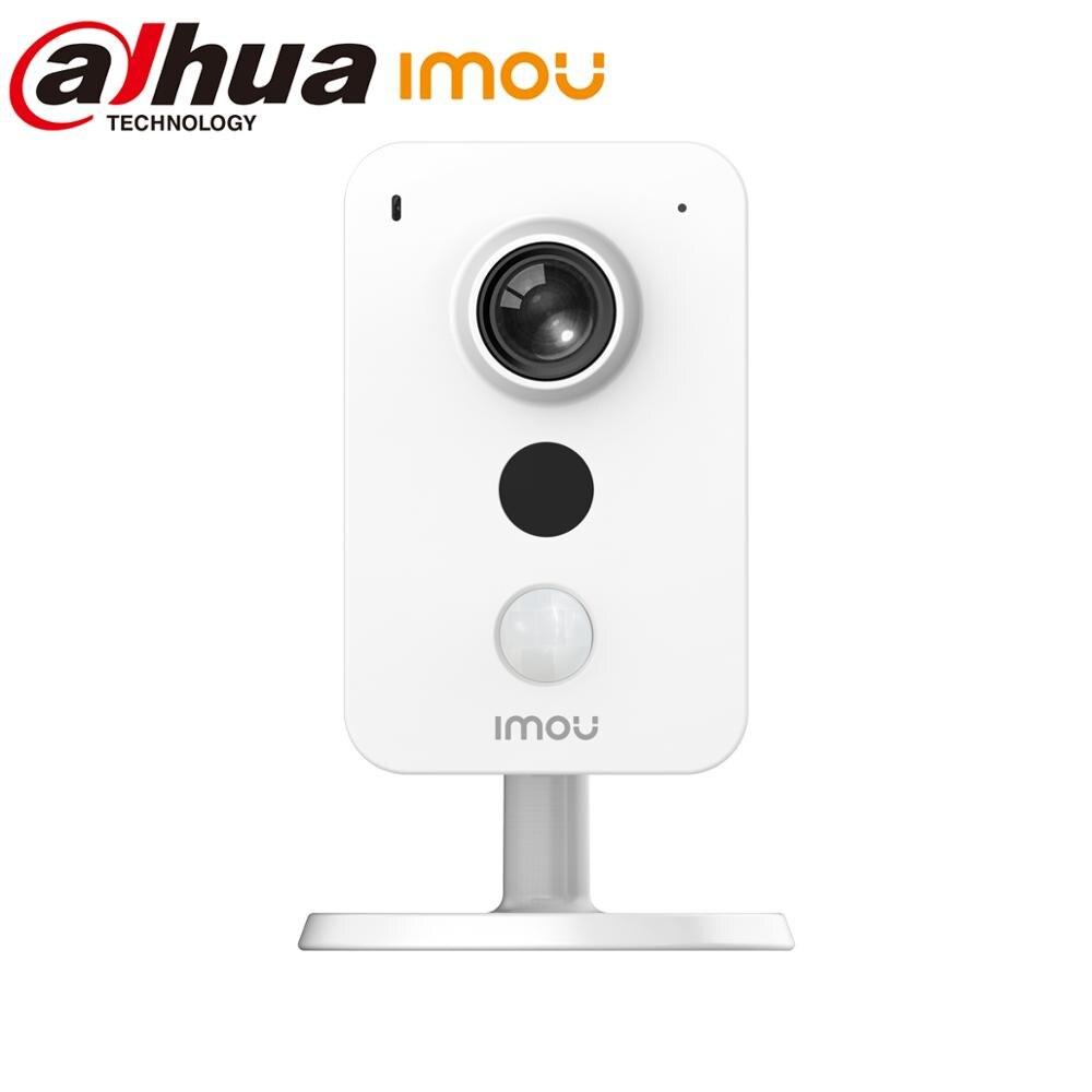 Dahua imou Cube POE, cámara IP de 4MP, detección PIR, interfaz de alarma externa, detección de sonido, cámara para hablar bidireccional