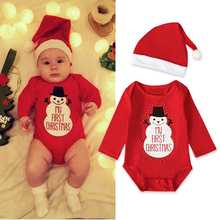 Baby Boys Girls Romper My First Christmas Clothes Sets