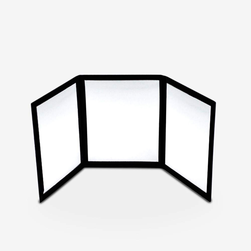 3-Way Mirror Practicing Mirror For Card Magic Gimmick Illusions Magic Tricks Accessories Stage Professional Magic Baby Toys