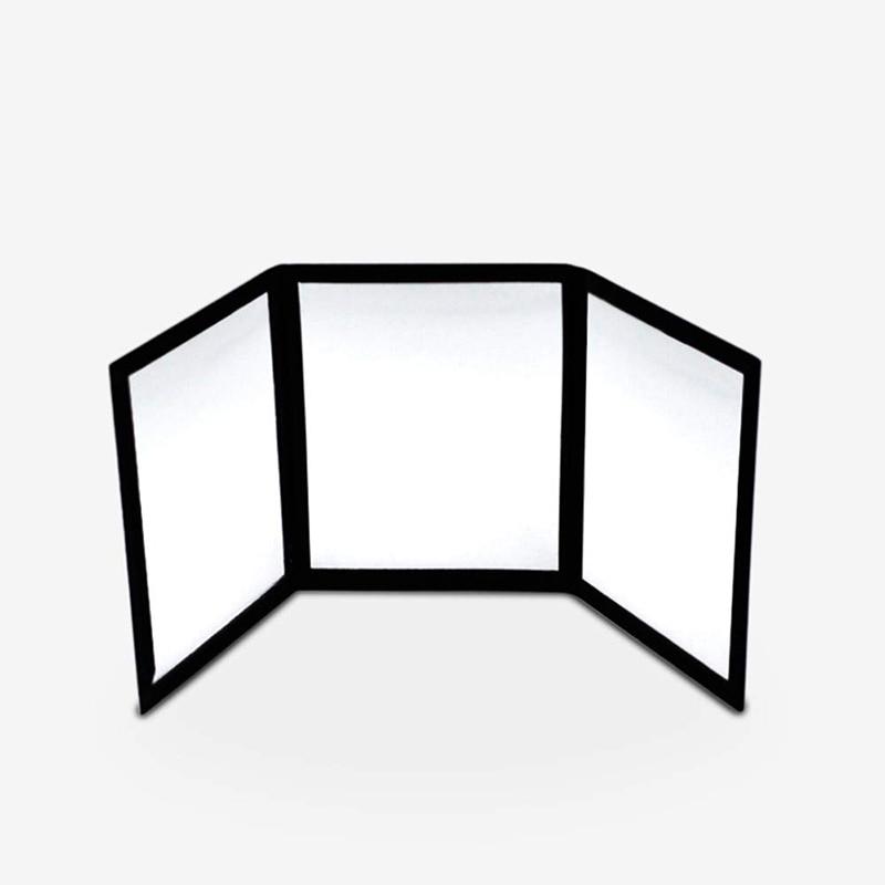 3-Way Mirror Practicing Mirror For Card Magic Gimmick Illusions Magic Tricks Accessories...