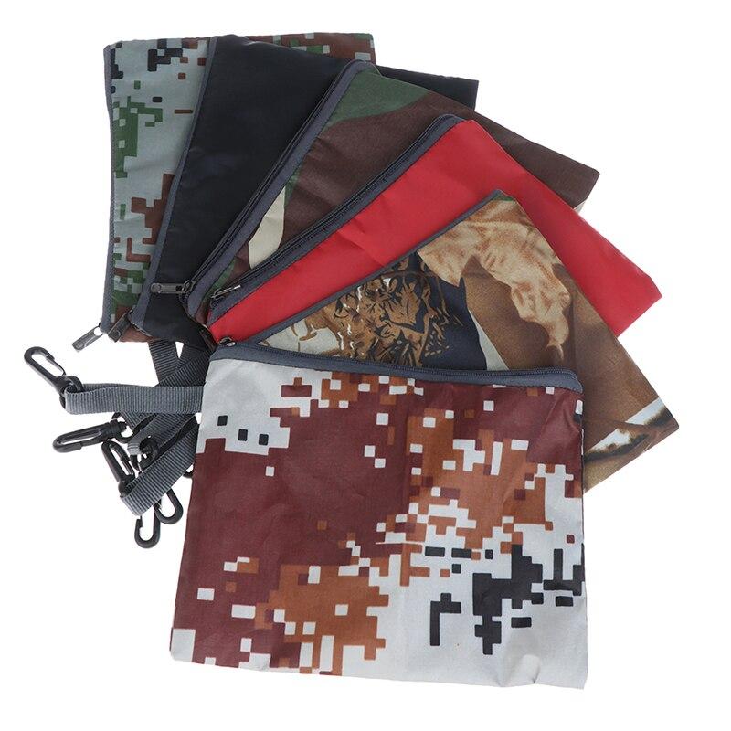 Outdoor Organizer Travel Cosmetic Bag Backpack Rain Cover Portable Waterproof Anti-tear Dust Proof Anti-UV Zipper Storage Bag