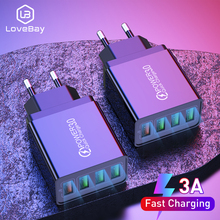 Lovebay USB Charger Quick Charge For Phone Adapter for iphon