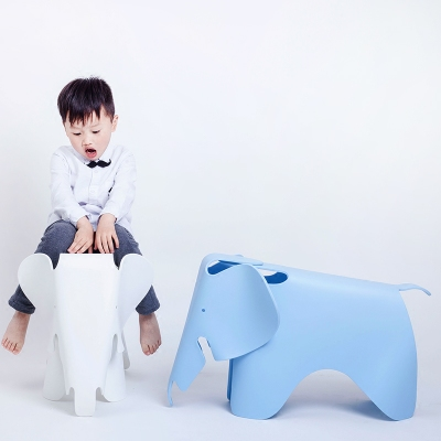 Nordic Modern Simple Children's Toy Chair For Shoes Stool Photography Props Kindergarten Elephant Chair Creative Decoration Furn