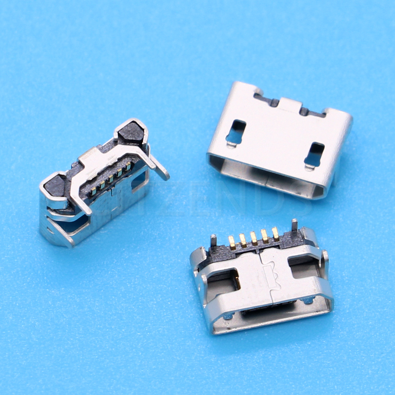 10pcs/lot Micro USB 5pin Jack Female Socket Connector OX Horn Type for Tail Charging Mobile Phone Sale at a Loss Russia