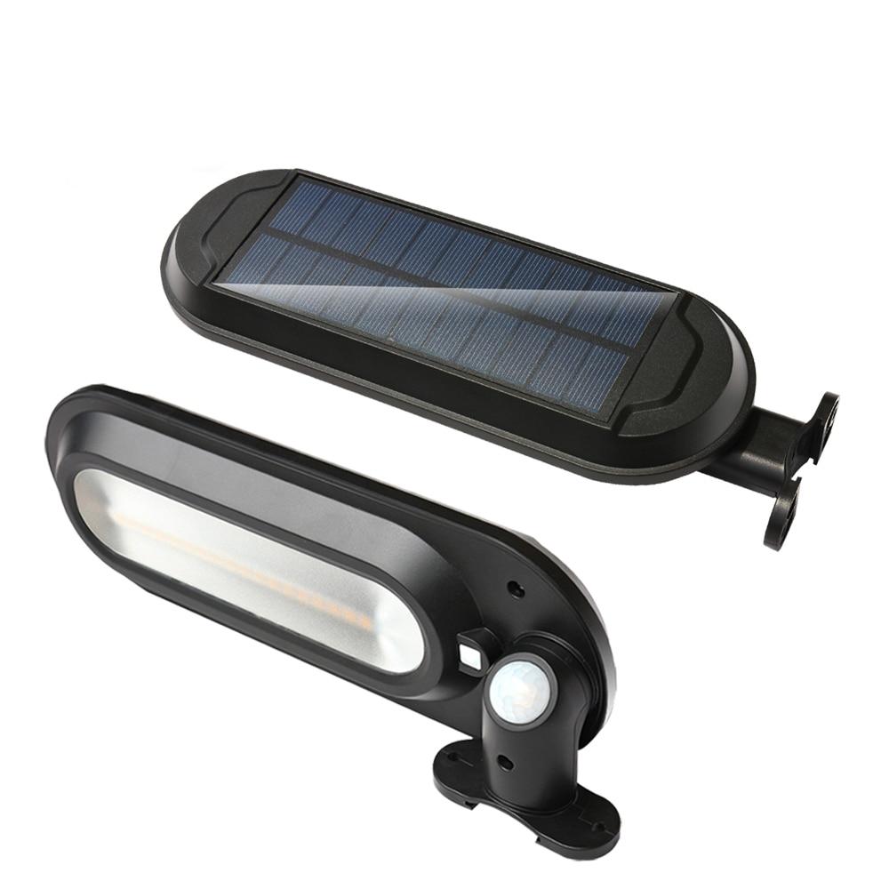Outdoor LED Solar Light With PIR Motion Sensor Waterproof Solar Lamp For Outdoor Garden Lighting