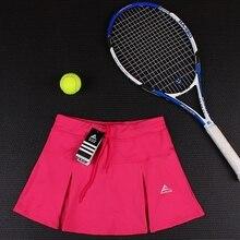 Плиссированные спортивные юбки для женщин, юбки для бадминтона, тенниса, повседневные женские быстросохнущие теннисные юбки, дышащие спортивные юбки для тренировок