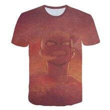New 3D Print One Punch Man Season 2 Tshirt Fashion Men/Women Short sleeve t shirt Harajuku Hot One Punch Man Season Men clothing