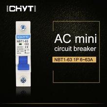 Автоматический выключатель 1p ac mcb nbt1 63 c Тип 230/400 В