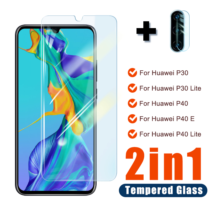 Full Cover Tempered Glass For Huawei Mate 30 P20 P30 P40 Lite E Screen Protector Camera Lens Glass Huawei P20 Pro P Smart Z 2019